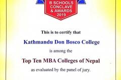 KDBC-Top-10-certificate2019